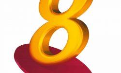 Channel 8 Logo