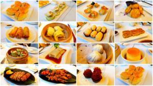 Vegeterian food in Taiwan Dim Sum