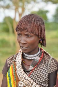 Hamer Tribe Woman