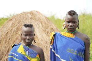 Mursi Tribe Women Ear Plate