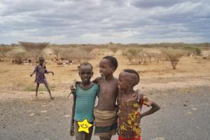 Daasanech tribe children