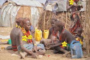 Dassanech tribe women