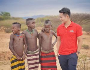Hamer Tribe Children