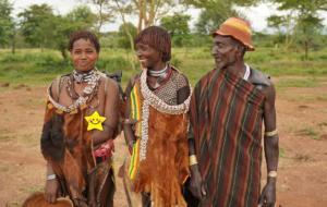 Hamer Tribe Costume