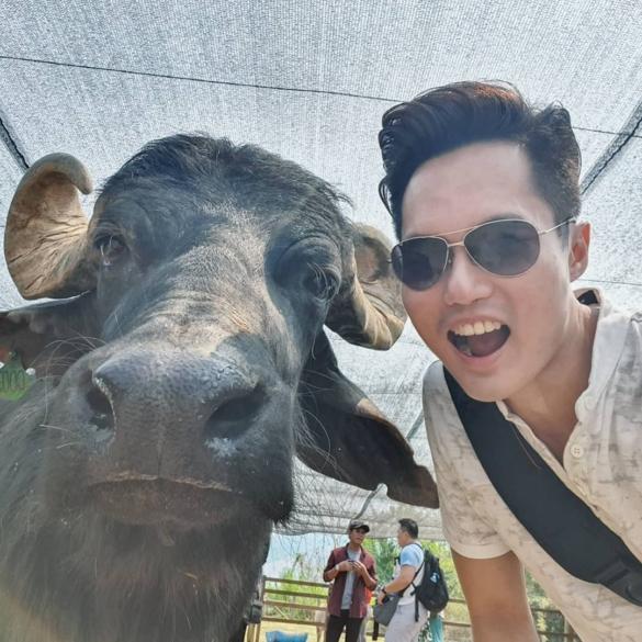 Selfie with Buffalo