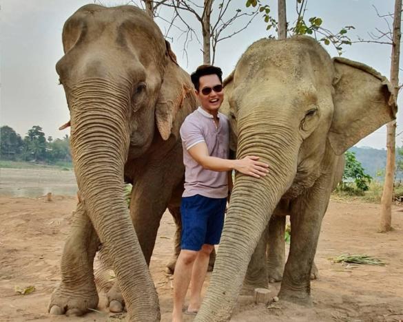Keith Yuen and Elephants