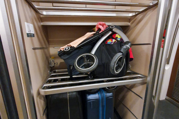 Luggage Area China High Speed Rail