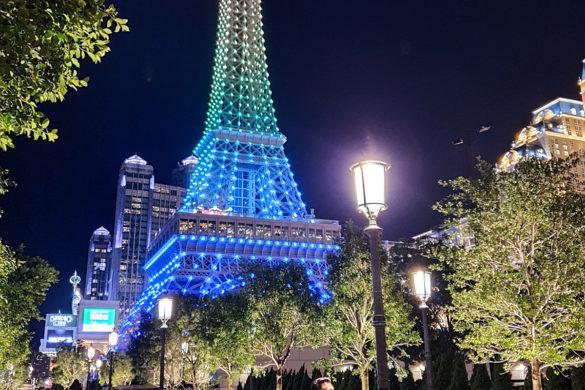 The Parisian Eiffel Tower