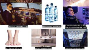 Flight Hygiene Tips