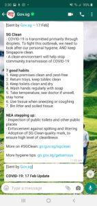 GOV.SG Covid-19 Tips
