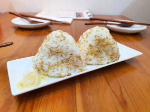 Egg Mayo Onigiri (Singapore Vegetarian)