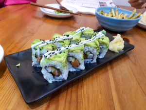 Avocado Maki (Singapore Vegetarian)