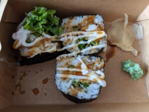 Ebi Tempura Maki (Singapore Vegetarian)