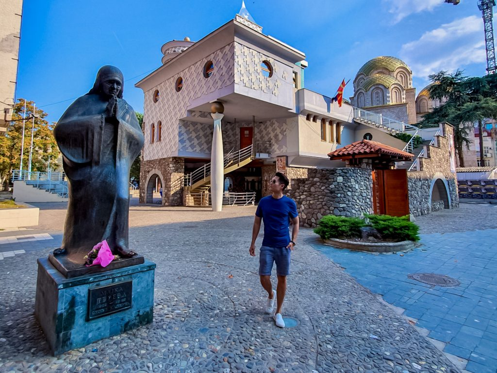Memorial House of Mother Teresa Skopje, North Macedonia singapore-travel-blogger-who-travelled-more-than-100-countries lessons-learned-from-covid-19