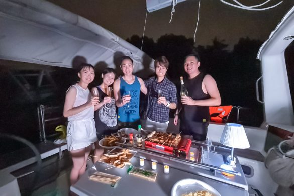 Singapore Sailcation Vegetarian BBQ