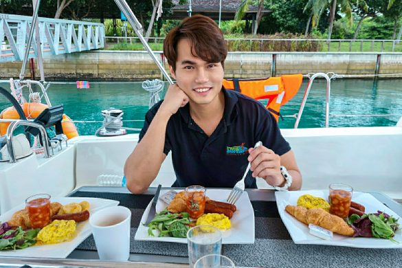 Singapore Sailcation Vegetarian Breakfast
