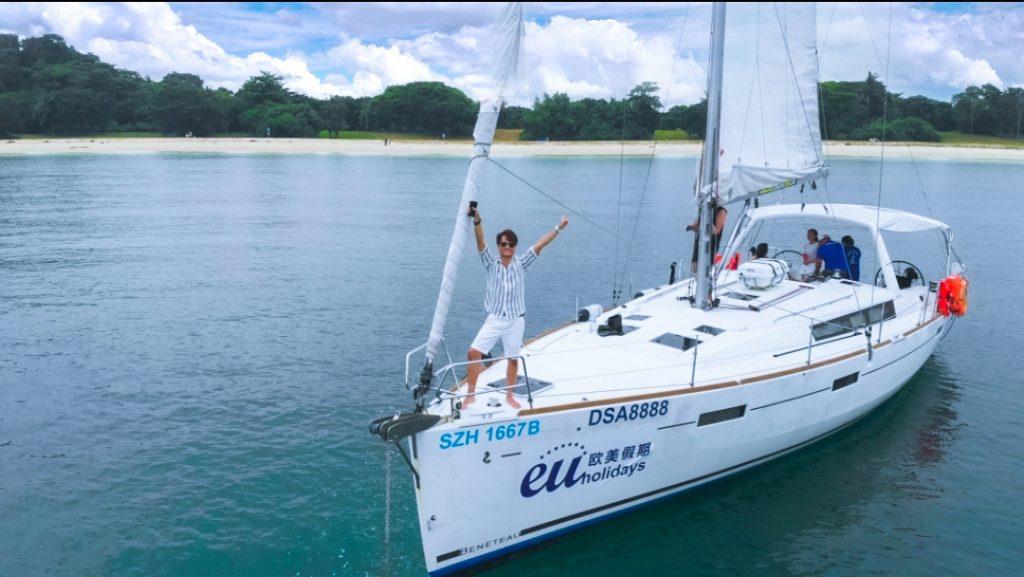 Singapore Sailcation Travel Influencer Keith Yuen