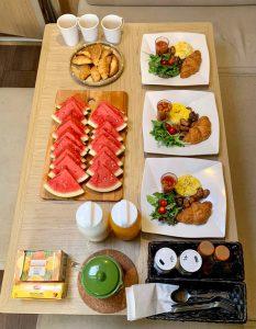 Singapore Vegetarian Continental Breakfast