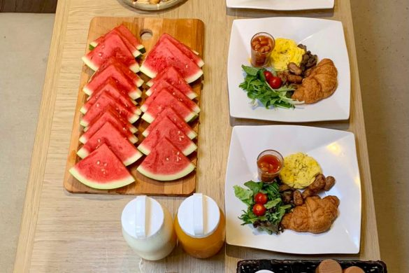 Singapore Vegetarian Continental Breakfast