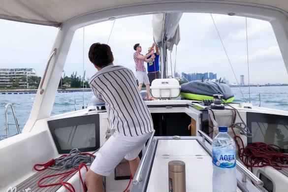 Singapore Sailcation Sailing