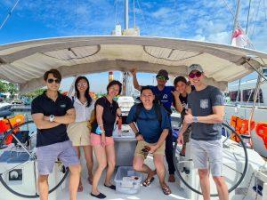 Singapore Sailcation Skipper & Crew