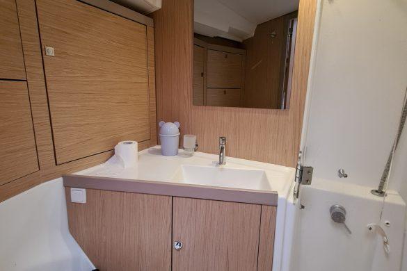 Singapore Sailcation Cabin Interior Ensuite Bathroom