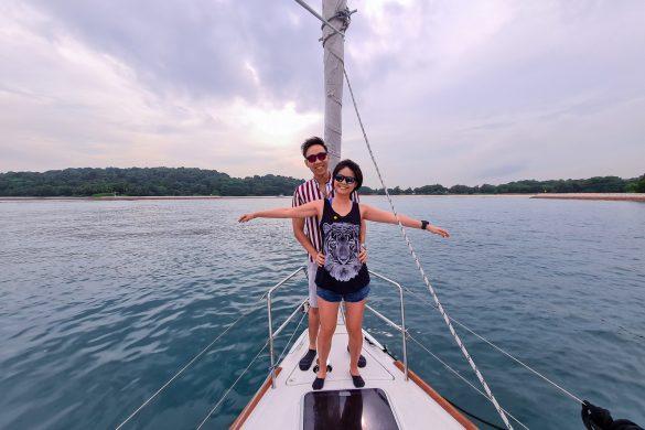 Singapore Sailcation Couple